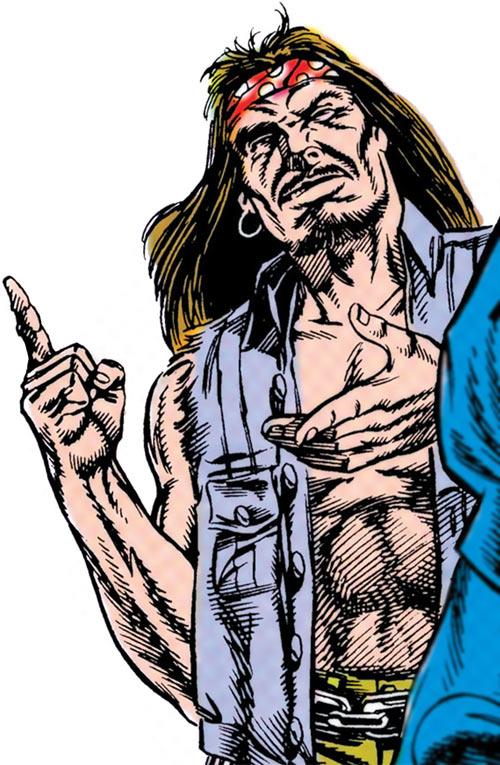 Outlaw (DC Comics) (John Henry Martin) biker vest