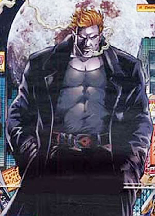 Outrage of the Solution (Ultraverse Malibu comics) in near-human form