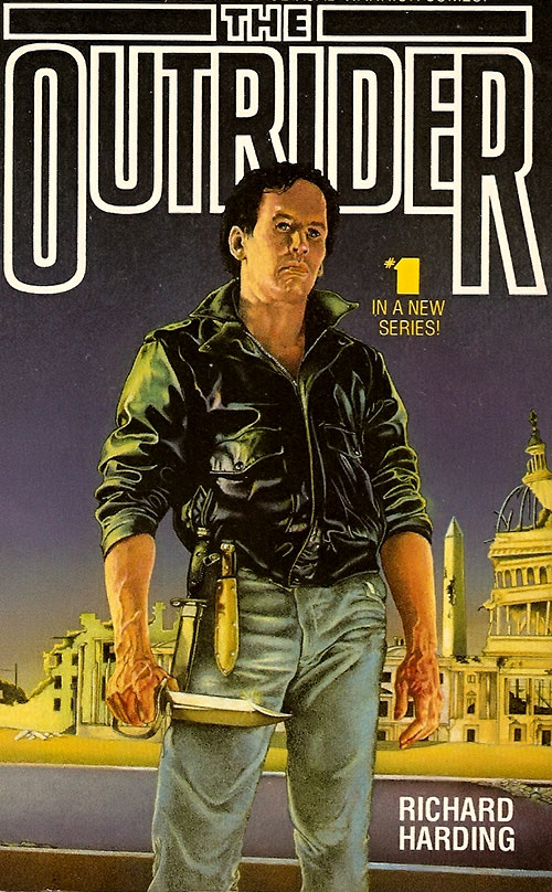 Bonner the Outrider novel cover detail 2/3