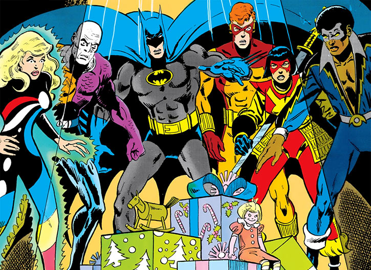 Batman and the Outsiders (DC Comics) (1983-86) children's gifts