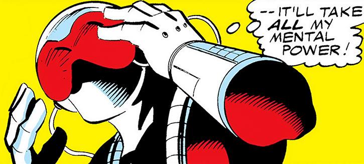 Overrider (Richard Rennselaer)'s helmet (Marvel Comics)
