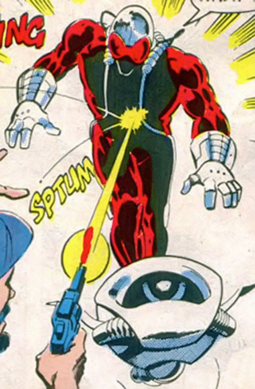 Overrider (Wolverine / Captain America enemy) (Marvel Comics)