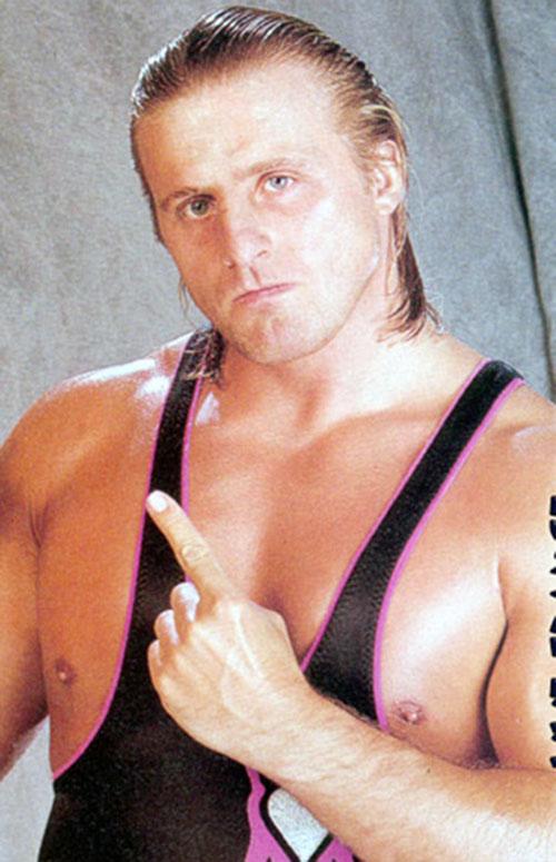 Owen Hart face closeup