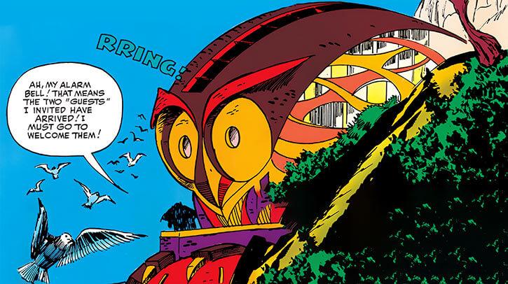Owl (Marvel Comics) (Daredevil enemy) (1960s) original aerie base