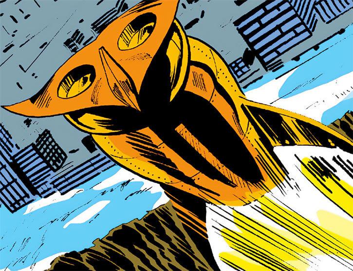 Owl - Marvel Comics - 1970s - Daredevil enemy - Rocketship