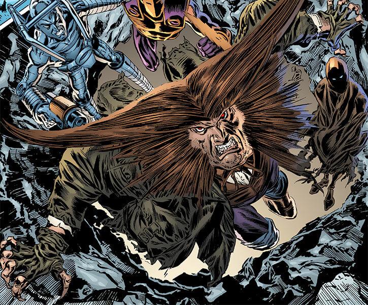 Owl (Marvel Comics) (Daredevil enemy) 2001 altered appearance