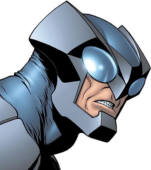 Owlman of the Crime Syndicate (DC Comics) head closeup