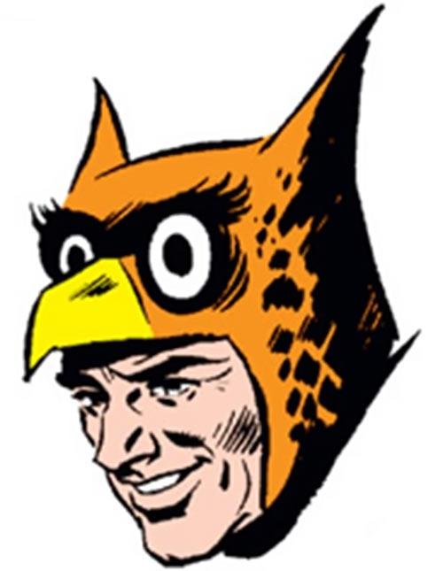 Owlman (DC Comics) (1964 Crime Syndicate) face closeup
