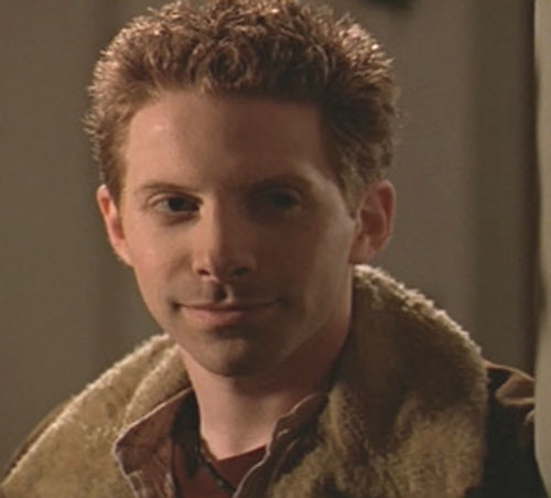 Oz (Seth Green in Buffy the Vampire Slayer) closeup