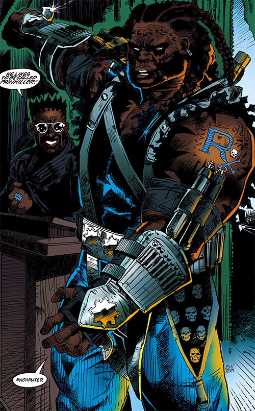 Painkiller Dc Comics Black Lightning Enemy Character Profile