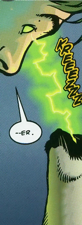Pandora of Strikeback! (Malibu and Image comics) uses her power