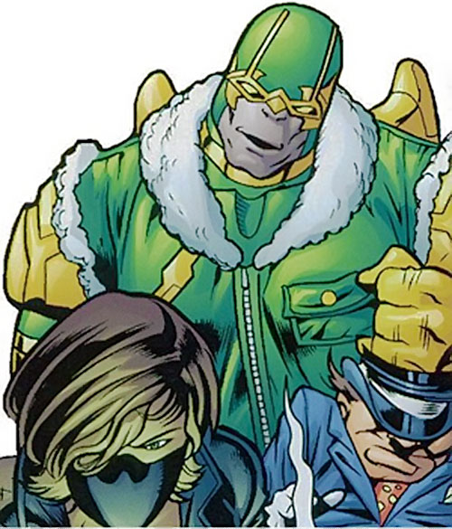 Parademon of the Secret Six (DC Comics) with Scandal Savage and the Mad Hatter
