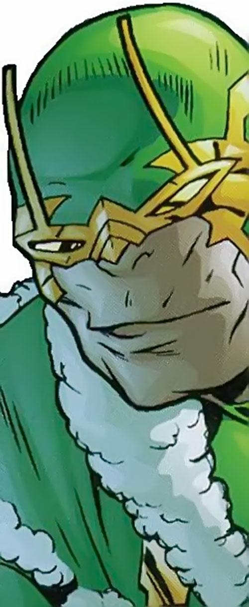 Parademon of the Secret Six (DC Comics) face closeup