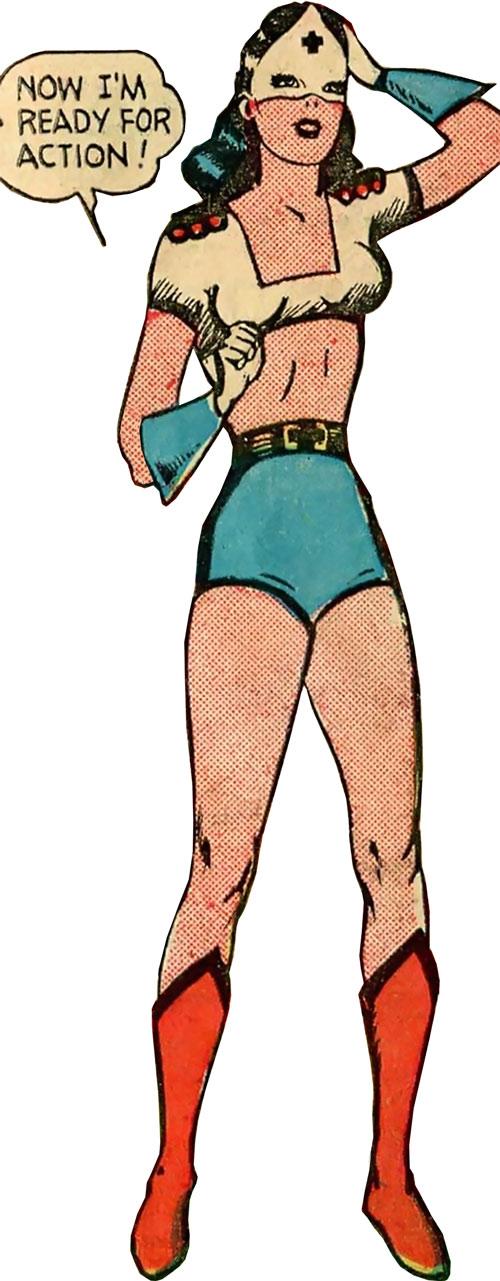 Pat Parker War Nurse (Harvey Comics) costume