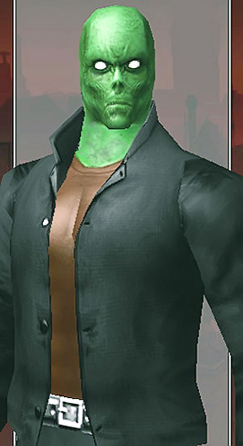 Pathfinder (DC Heroes RPG) without his mask
