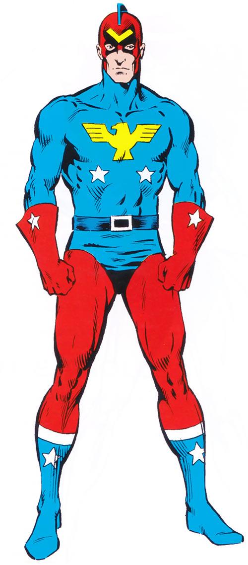 Patriot (Captain America character) (1983 Marvel Comics handbook universe)
