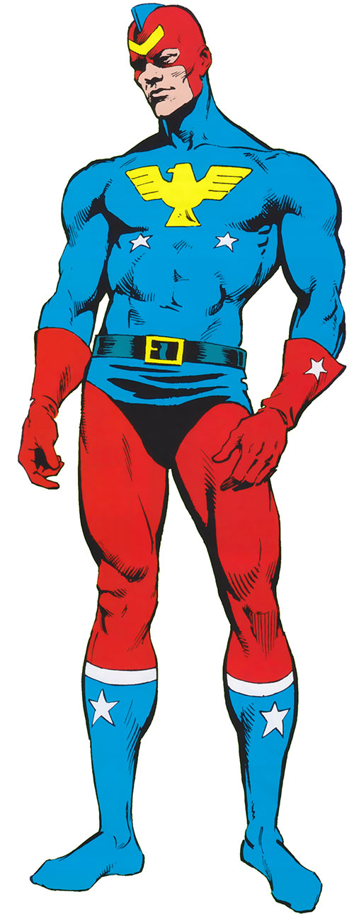 Patriot (Jeffrey Mace) from Marvel Comics