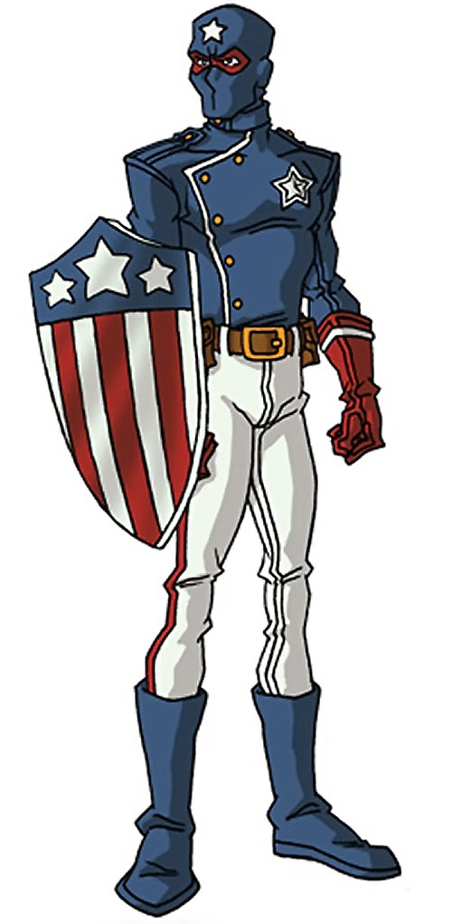 Patriot of the Young Avengers (Eli Bradley) (Marvel Comics) by RonnieThunderbolts 1/2