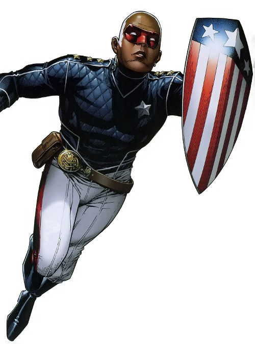 Patriot of the Young Avengers (Eli Bradley) (Marvel Comics)