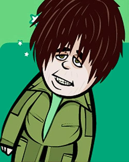 Pau (Joan Valenti in Club Super-3) in cartoon form