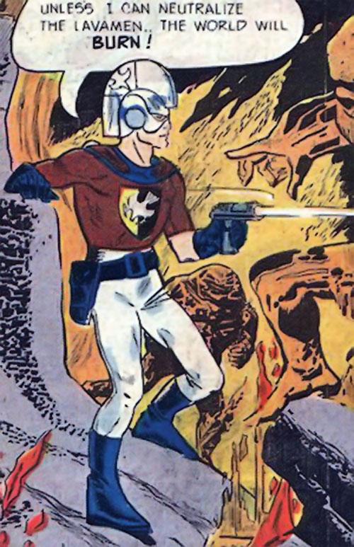 Peacemaker (Charlton Comics) vs. the Lavamen