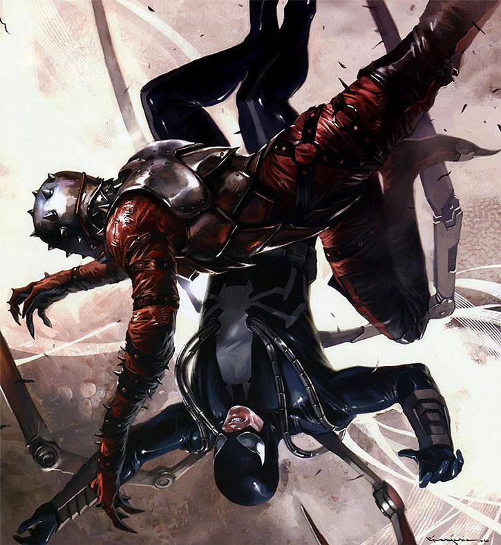 Penance (Robbie Baldwin) vs. Steel Spider
