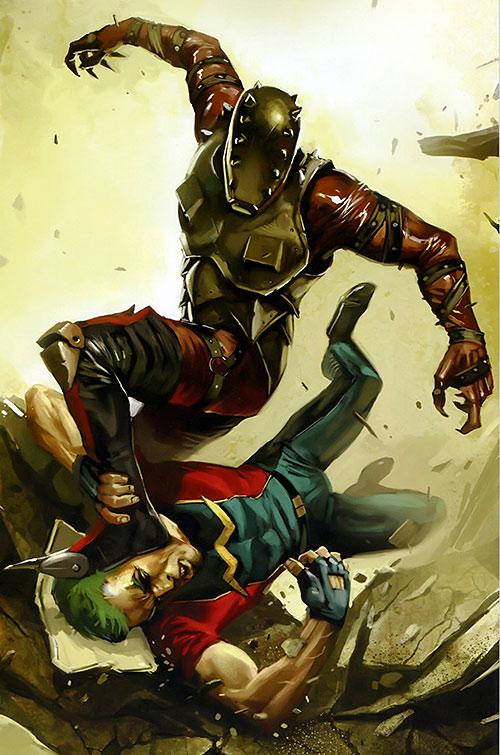 Penance (Baldwin) of the Thunderbolts (Marvel Comics) vs. Doc Samson