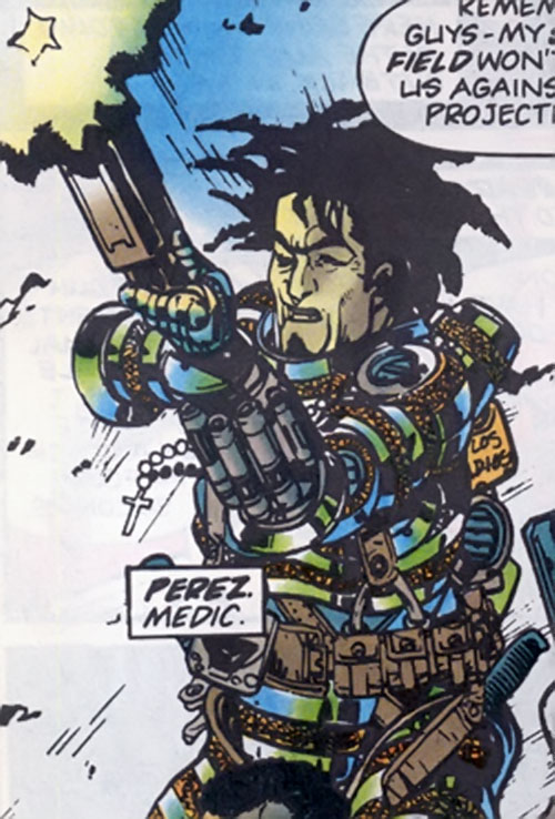 Perez of the Warheads (Marvel Comics UK)