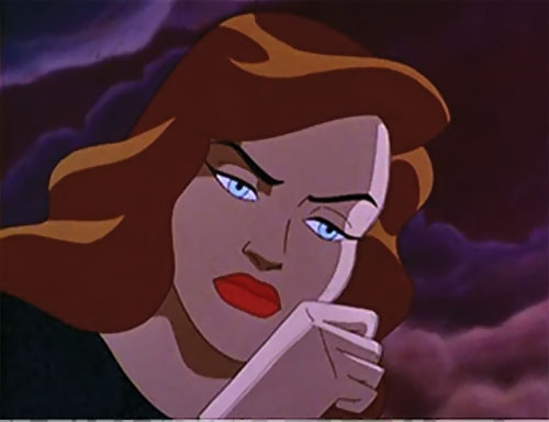 Phantasm (Batman enemy) (Animated DC Universe) sad face closeup