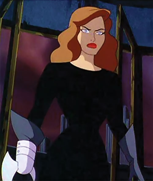 Phantasm (Batman enemy) (Animated DC Universe) without her mask