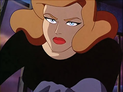 Phantasm (Batman enemy) (Animated DC Universe) determined face closeup