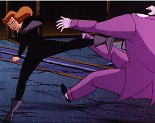 Phantasm (Batman enemy) (Animated DC Universe) kicks the Joker away