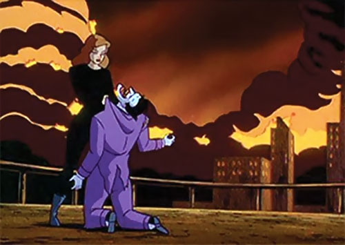 Phantasm (Batman enemy) (Animated DC Universe) vs. the Joker