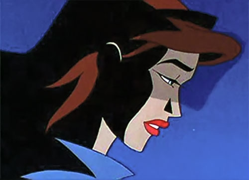 Phantasm (Batman enemy) (Animated DC Universe) face closeup side view
