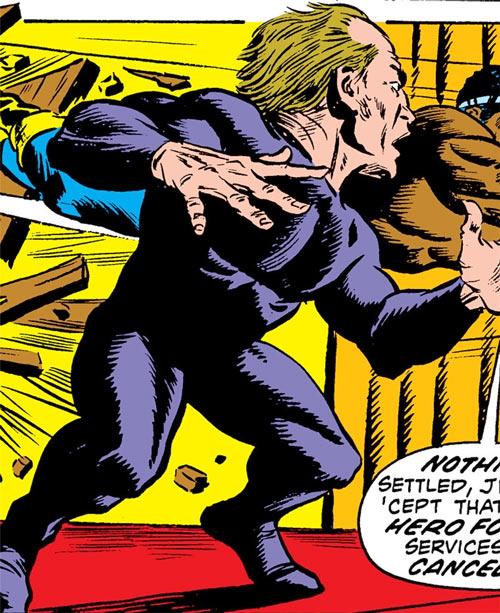 Phantom of the 42nd Street (Luke Cage enemy) (Marvel Comics) Armand