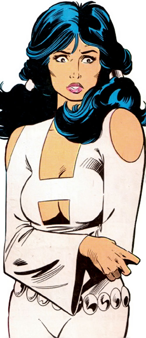 Phantom Girl of the Legion of Super-Heroes (DC Comics)