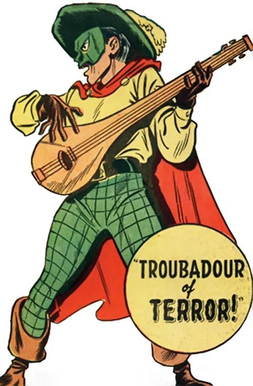 Phantom Troubadour (Namora enemy) (Timely Marvel Comics)