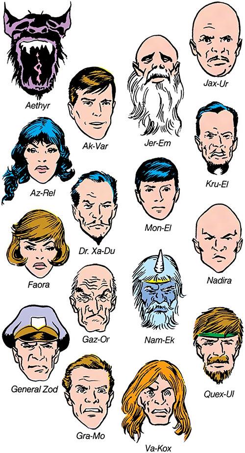 Prisoners of the Phantom Zone (Superman DC Comics)