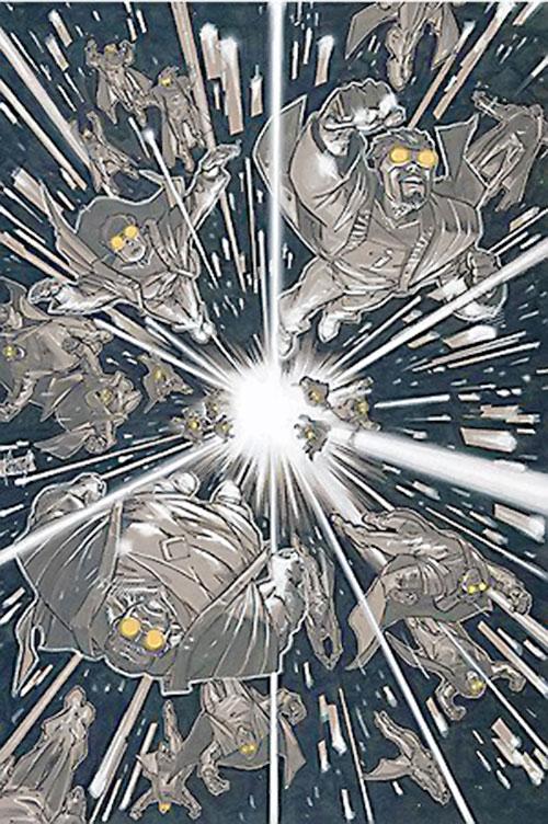 Post-Crisis Phantom Zone invasion (Superman DC Comics)