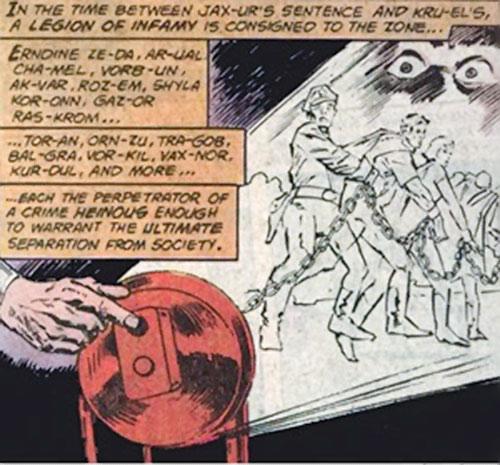 Phantom Zone projector (Superman DC Comics)
