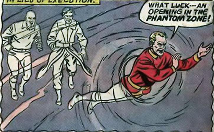 Phantom Zone prisoners find a way to escape