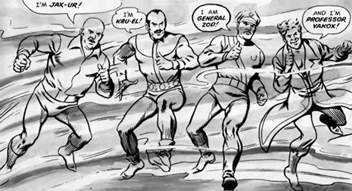 Four Phantom Zone prisoners