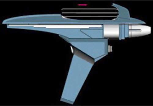 Star Trek phaser pistol