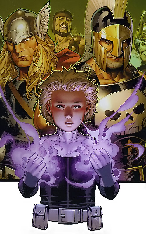 Phobos of the Secret Warriors (Marvel Comics) and other gods