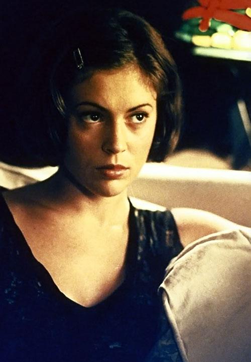 Phoebe Halliwell (Alyssa Milano in Charmed) black top