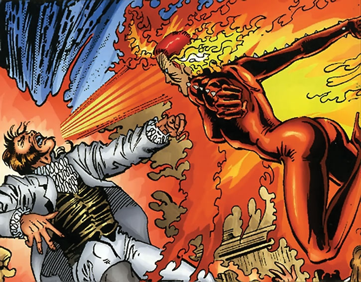 Phoenix (Rachel Summers) vs. Mastermind
