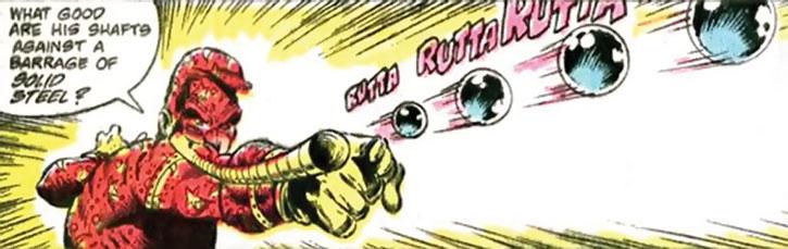 Pinball Wizard firing steel balls