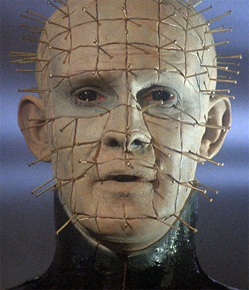 Pinhead (Hellraiser movies) face
