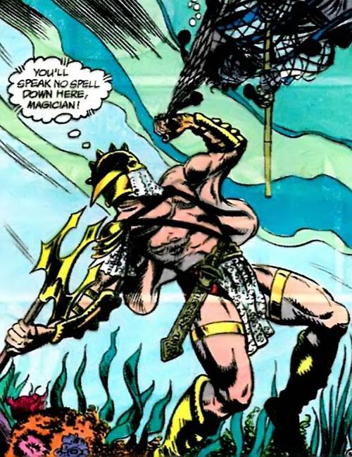 Piscator (Suicide Squad enemy) (DC Comics)