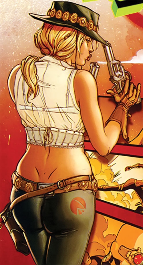 Pistolera of the Ravens (Birds of Prey enemy) (DC Comics)